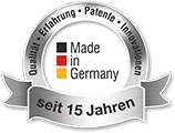 Made in Germany - Seit 15 Jahren